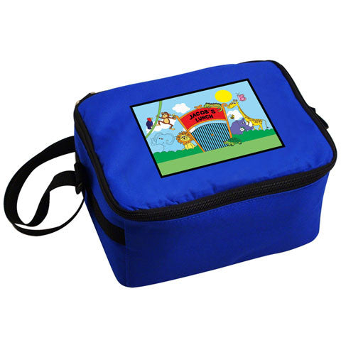 Personalised Zoo Lunch Cool Bag