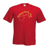 Retired Rock Star Fun Motif T-Shirt