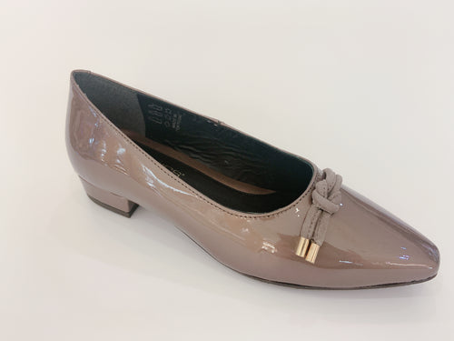 Patent Leather Women's Low Heels