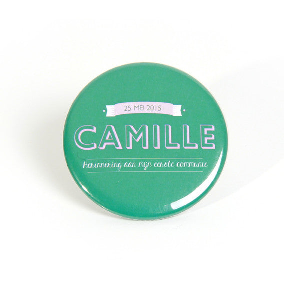 Camille lichtroze mint magneet