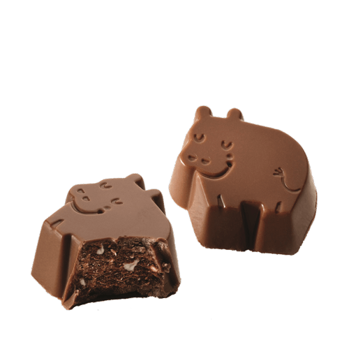 Dreamy Hippos Milk Chocolate Honey Almond