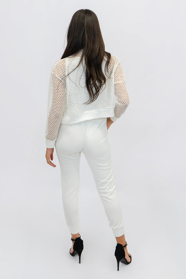 Fishnet Tweed Summer Jacket