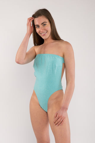 Bandeau Bodysuit With Back Tie