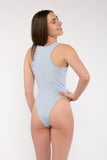 Basic Tank Racer Back Bodysuit