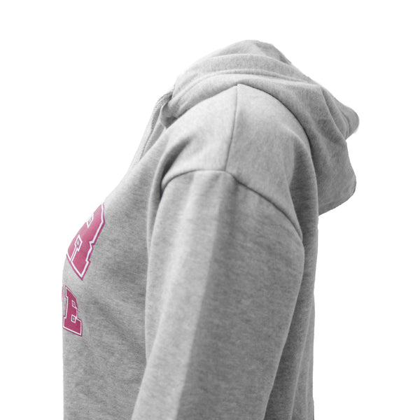 Mollie Grey Fleece Hoodie For Womens