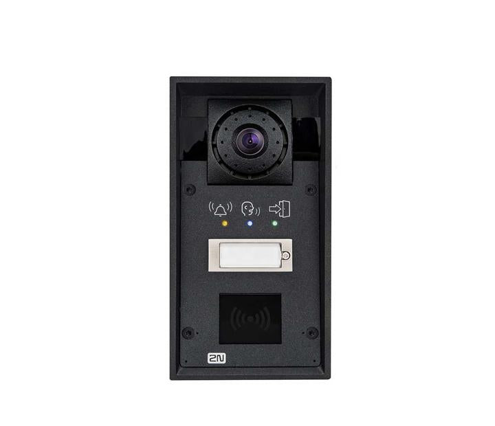 2N HELIOS IP FORCE 1 BUTTON, HD CAM, PICTOGRAMS, 10W SPEAKER, CARD READER READY