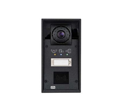 2N HELIOS IP FORCE 1 BUTTON, HD CAM, PICTOGRAMS, 10W SPEAKER, CARD READER READY - Nordata