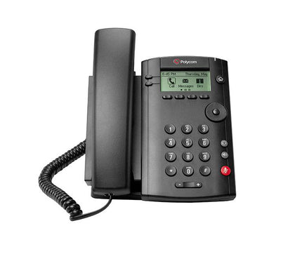 VVX 101 1-LINE DESKTOP PHONE WITH SINGLE 10/100 ETHERNET PORT POE ONLY SHIPS WITHOUT POWER SUPPLY - Nordata