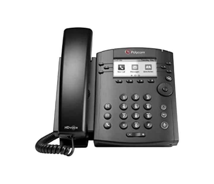VVX 300 6-LINE DESKTOP PHONE WITH HD VOICE. COMPATIBLE PARTNER PLATFORMS: 20 POE SHIPS WITHOUT POWER SUPPLY. 3 YEAR PARTNER PREMIER SERVICE IS INCLUDED FOR CHINA