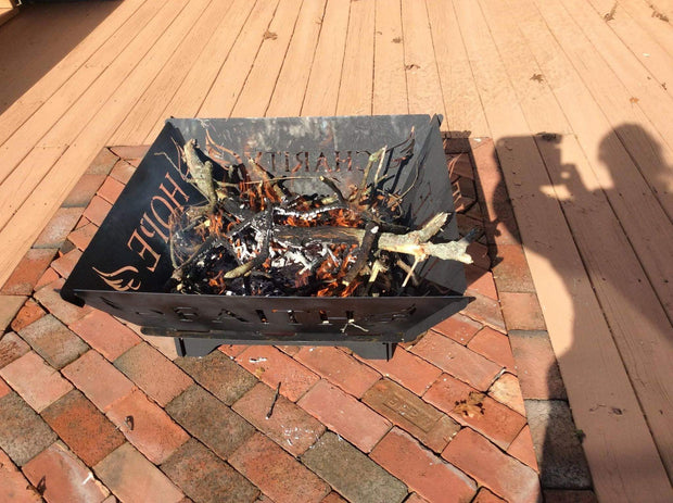 Personalized Marine Portable Fire Pits