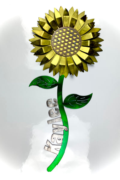 Custom Sunflower Sign