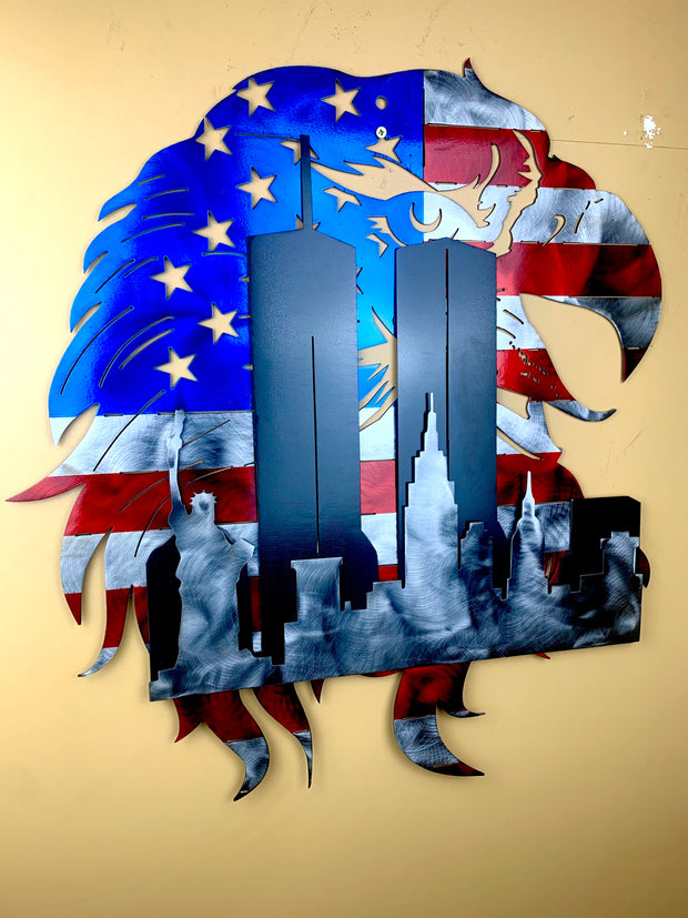 World Trade Center, New York Eagle Flag