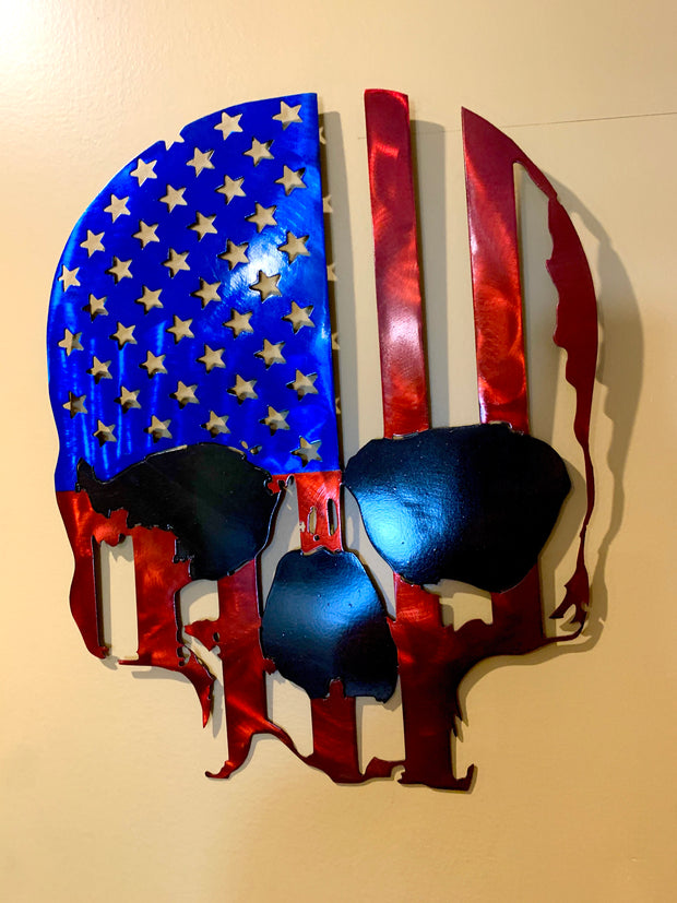 American Lethal Threat  Skull