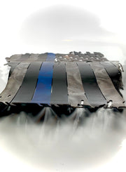 USA Metal Police Flag