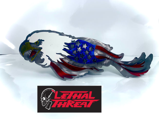 Lethal Threat USA Eagle Hitch Cover