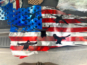 American Tattered Duck Flag