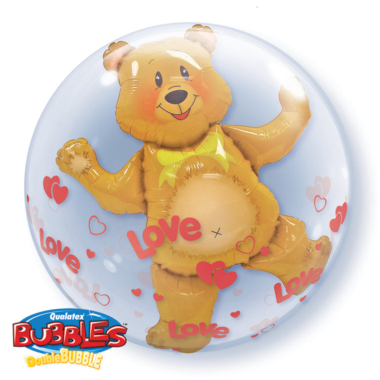 Love Bear 24 inch Double Bubble
