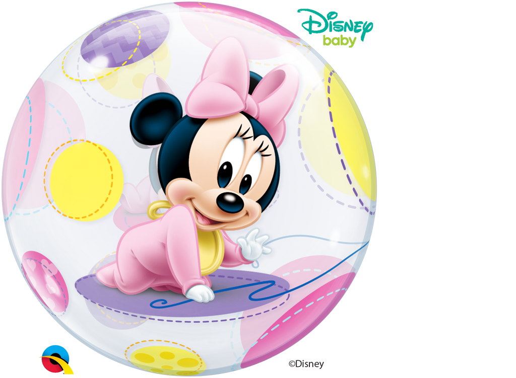 Disney Baby Minnie Mouse 22 inch Bubble