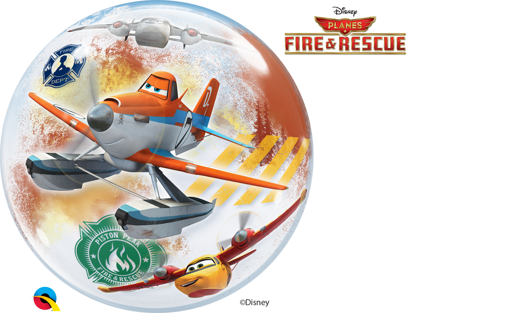 Planes Fire & Rescue Bubble Balloon