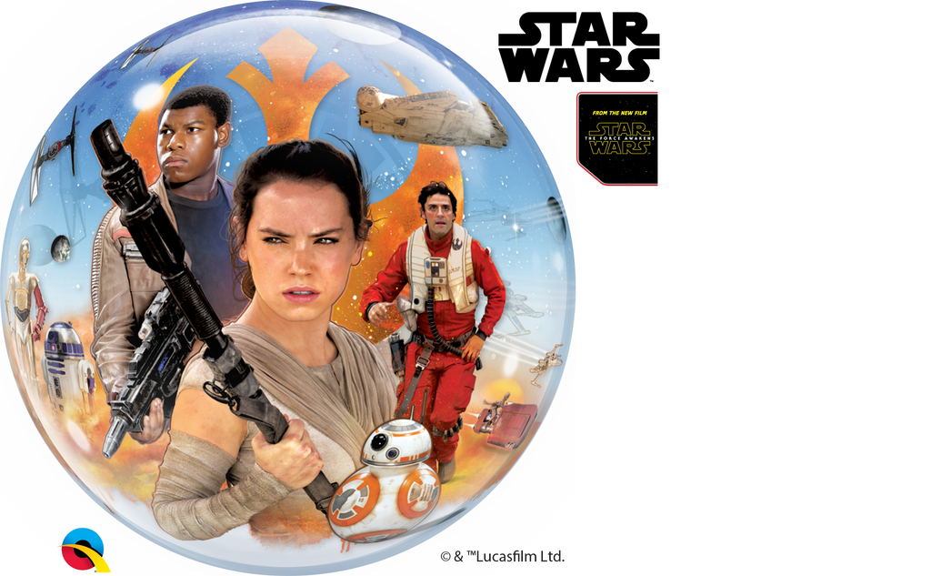 Star Wars - The Force Awakens 22 inch Bubble