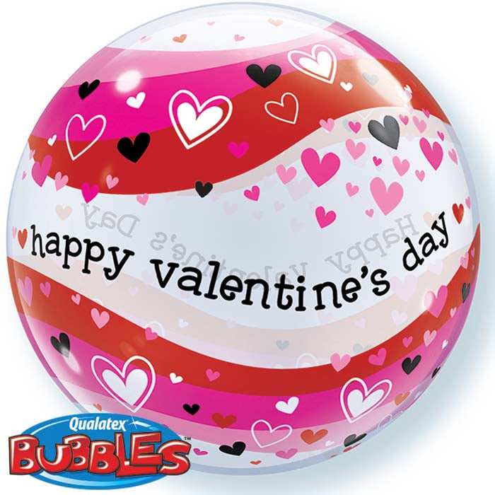 Happy Valentine's Day 22 inch Bubble
