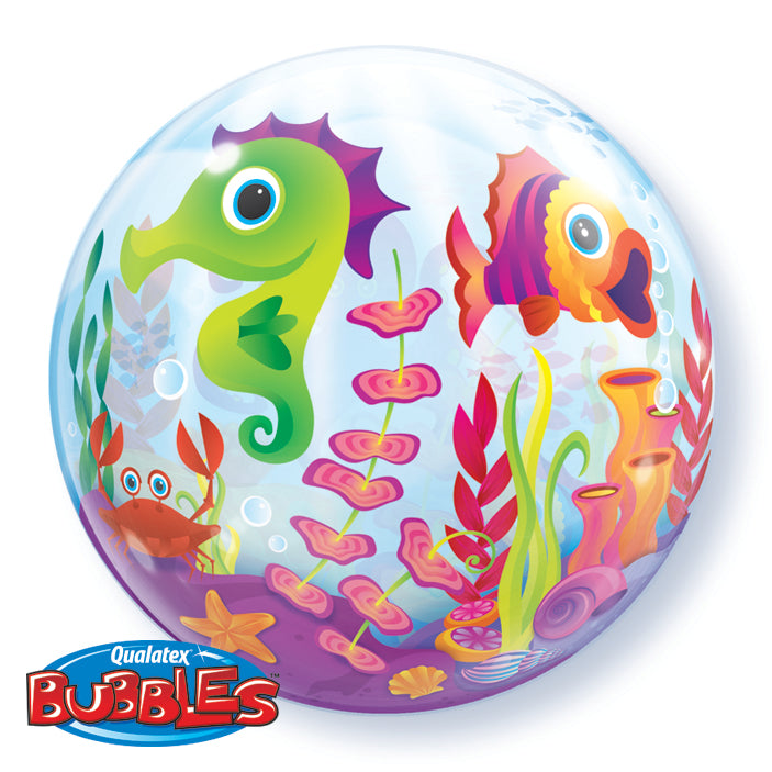 Fun Sea Creatures 22 inch Bubble