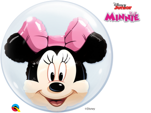 Disney Minnie Mouse 24 inch Double Bubble