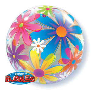 Fanciful Flowers 22 inch Bubble