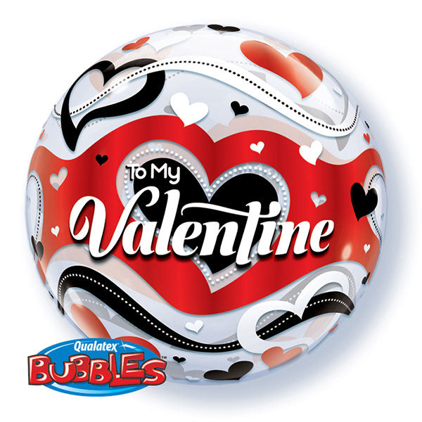 To My Valentine 22 inch Bubble