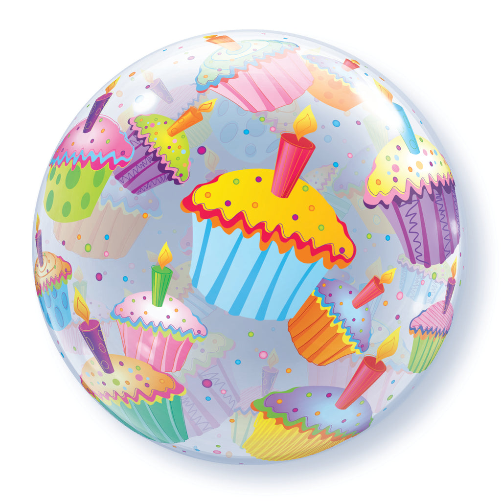 Cupcakes 22 inch Bubble
