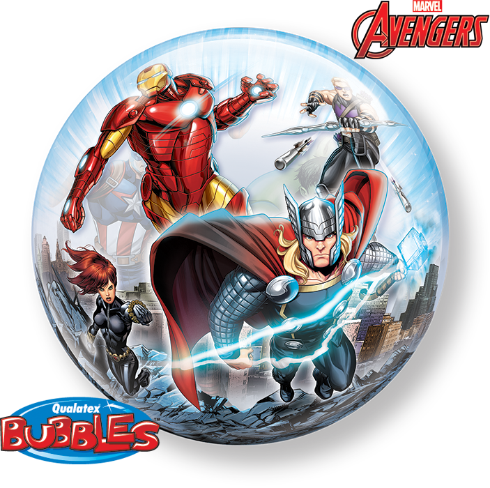Marvel Avengers 22 inch Bubble