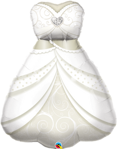 Bride's Wedding Dress 38""