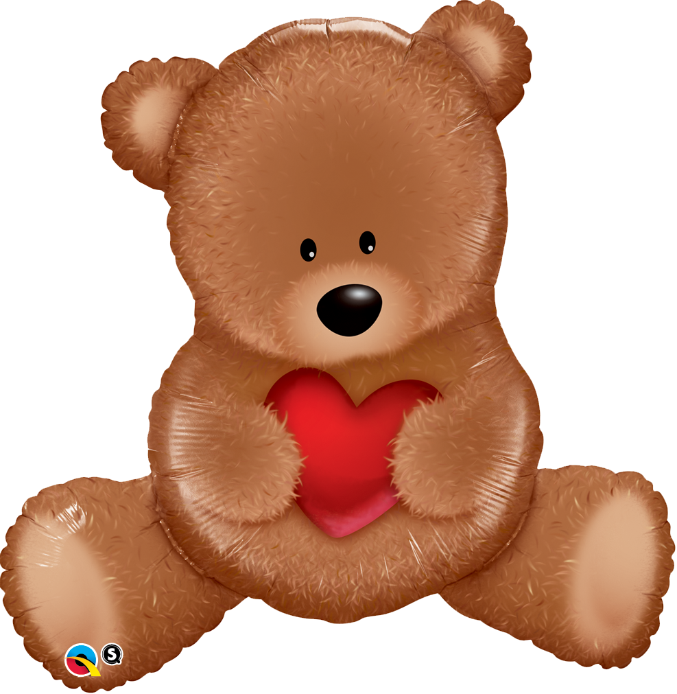 Teddy Bear Love 35 inch Shape Foil