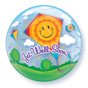 Get Well Soon! Kites 22 inch Bubble
