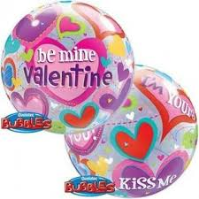 Be My Valentine 22 inch Bubble