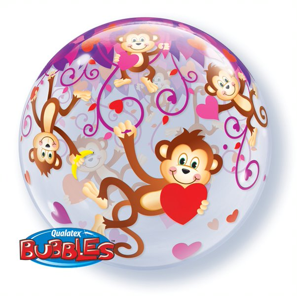 Love Monkeys 22 inch Bubble