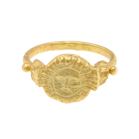 Apollo Sun Ring - 18K Gold Plated