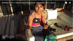 Moisturizer with oils fit for a QUEEN!: Neem + Neroli Facial Moisture