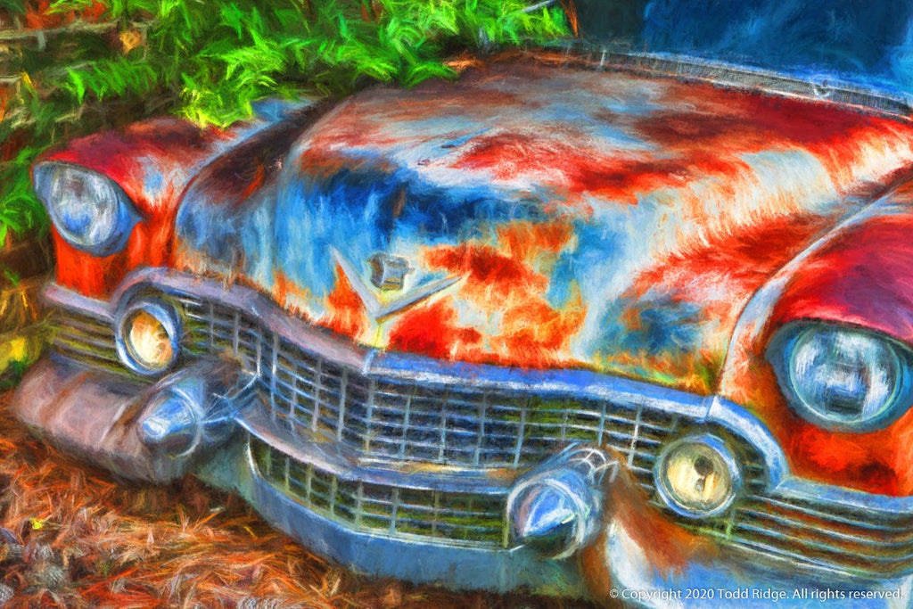 Limited Edition Car Art Print