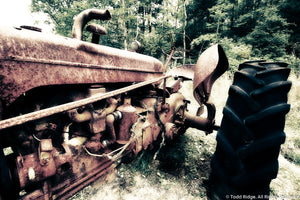 Tractor Art Print for Sale