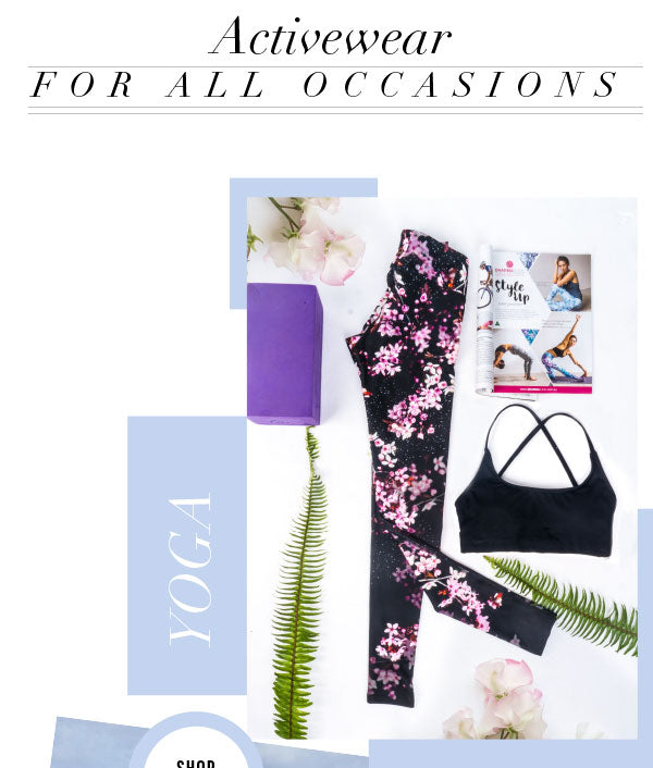 Women's Yoga Wear and Activewear for all Occasions