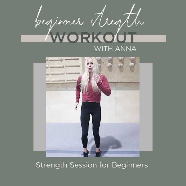 Beginner Strength Workout with Anna