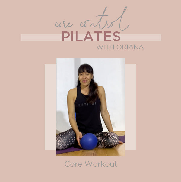 Pilates Core Control with Oriana