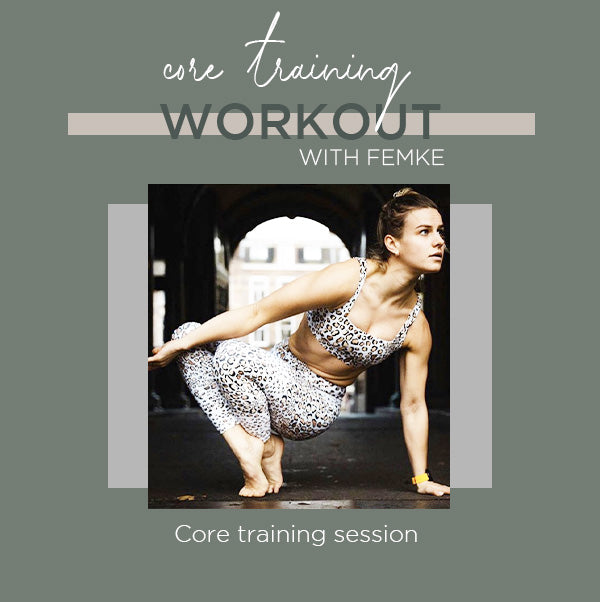 Core training with Femke