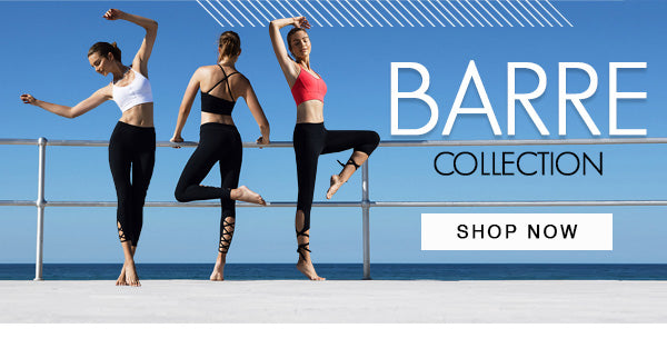 Shop the beautiful Barre Collection