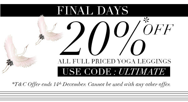 Get 20% Off Printed Yoga Leggings