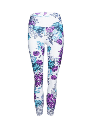 Bloom High Waist Printed Activewear & Yoga Legging - 7/8