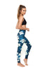 Orchid Standard Waist Printed Yoga Legging - Full Length