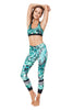 Rainforest High Waist Printed Yoga Legging - 7/8