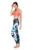Sassy Dragon - Green Standard Waist   Yoga Legging - Full Length